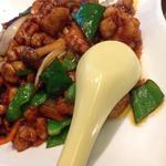 中国料理 シルクロード - 鶏肉の甜麺醤炒め