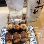せなみ・居酒屋 - 納豆肉巻