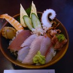 寿司の海女屋 - ランチのチラシ寿し