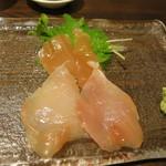 バード コート - 軍鶏の刺身(昆布締め)
