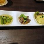 バード コート - 前菜3種
