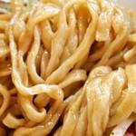 らーめん香澄 - 特製煮干まぜそば(麺)