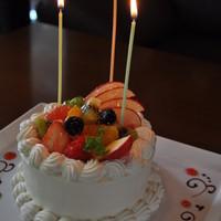 HappyAnniversary!手作りケーキでお祝い♪
