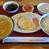 竜ヶ崎なかね台食堂 - 料理写真:ご飯と味噌汁を誤って逆に
