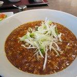 浜松四川飯店 - 麻婆ラーメンです。
