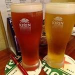 griff - カシスビール&シャンディガフ