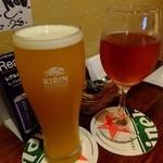 griff - マンゴービール&キール