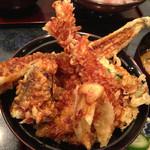 魚ごころ 季魚喜人 - 豪快天丼 1512円