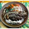 弱尊 - 料理写真:「飛騨豚カツカレー」… 辛みと酸味と甘みのバランスの良いカレーです(2012)