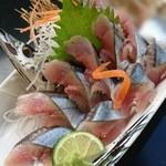 和風レストラン はっかく亭 - サンマの刺身!♪