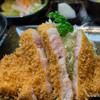 大宝 - 料理写真:特上ロースかつ定食【2014年9月】