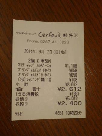 グロッサリーコート セルフィユ 軽井沢銀座店