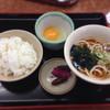山田うどん - 料理写真:140907 たまごかけごはんのセット