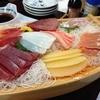 鈴木屋 - 料理写真:船の中で舟盛りのお刺身