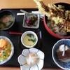 海峡ビューしものせき - 料理写真:穴子天丼 1,080円