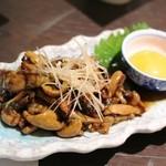 八十八 - 鰻の肝の炒り煮