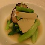 トゥーランドット - チンゲン菜のニンニク炒め