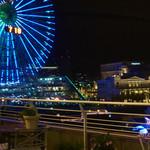 トゥーランドット - 窓からの夜景