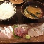海山 - 本日の刺身¥850