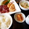 焼肉だいじゅ園 - 料理写真:焼肉スタミナセット1058円全体像 ご飯は小。