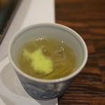 味あら井 - 鱧の出汁を使った前菜