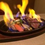 いち凛 - 近江牛のステーキ