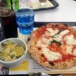 アマーク ド パラディ ICC - 大きなピザ!美味しかったので、完食できました。
