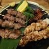八十五 - 料理写真:串焼き盛り合わせ1,430円(税抜)