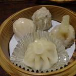 碧空 - 定番の飲茶♡お贅沢な4種もり!手作りで素晴らしい