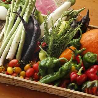産地直送の新鮮野菜!