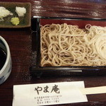 手打ち蕎麦 やま庵 - 2014相盛り800円