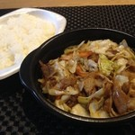 ほっともっと - 肉野菜炒め弁当490円☆(第四回投稿分①)