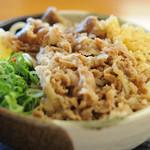 麺処 綿谷 - 牛肉ぶっかけ(ひや)