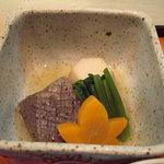 武蔵野 - 炊き合せ。