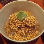 武蔵野 - 鯛茶漬の具。