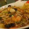ピープル - 料理写真:焼きそば中華丼のハーフハーフ