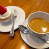 ダンドリオン - 料理写真:ショートケーキ、エスプレッソ