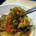 CAFE&KITCHEN ROCOCO - 甘辛く炒められた牛肉と野菜に春雨が絡んでご飯が進みました。