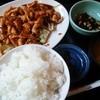 山海楼 - 料理写真:鶏肉みそ炒め定食700円