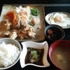道草 - 料理写真:和風からあげ定食(800円・ランチパスポートで500円)