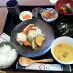 くもべ - 週替わりの「くもべ定食」(2014年9月)