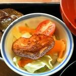 くもべ - ランチのサラダ(2014年9月)