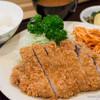 梅林 - 料理写真:銀カツ定食【2014年9月】