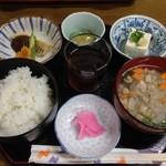 うだつ郷土料理 - 料理写真:ふるさと定食