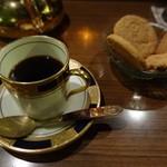 アール座読書館 - ガーワ スパイスのコーヒー