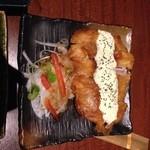 30688408 - 地鶏のチキン南蛮!贅沢な食べ方だけど、タルタルとよく合いました