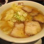喜多方ラーメン坂内 - 2014/8 わんたん麺