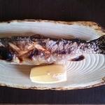 釜めし まこと - 岩魚の塩焼き