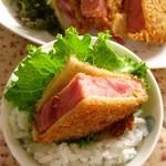生鮮食品館サノヤ - ハムカツ108円