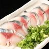 秋葉原漁港 快海 - 料理写真:快海名物「生さばの刺身」たまり醤油でどうぞ♪